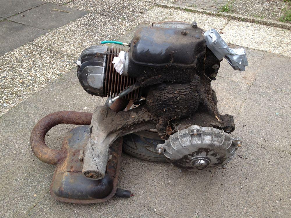 Motor-reinigen