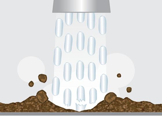 Wie funktioniert Trockeneisreinigung?