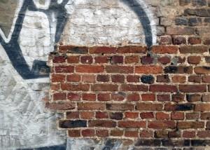 Graffitti Entfernung mit Trockeneis